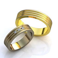 Кольцо обручальное 1006W