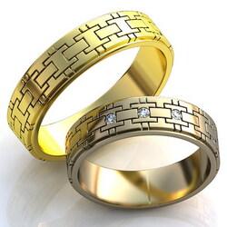 Кольцо обручальное 1295W