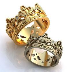 Кольцо «Корона» 1426W