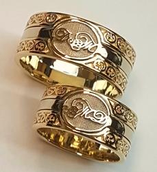 Кольцо обручальное 10369