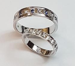 Кольцо обручальное 10371
