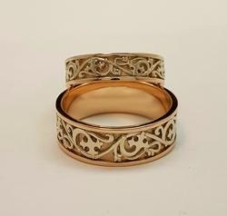 Кольцо обручальное 10374