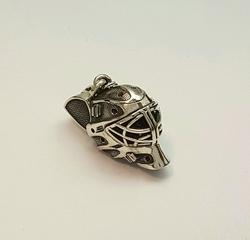 Подвеска, сувенир «Шлем вратарский» 70029