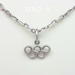 Подвеска, сувенир «Олимпийские кольца» 70001