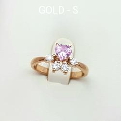 Кольцо «Сердце» 10392