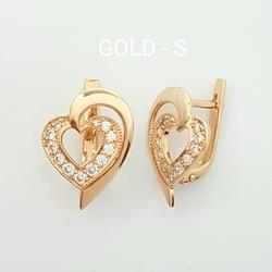 Серьги «Сердце» 20238