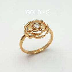 Кольцо «Роза»10463