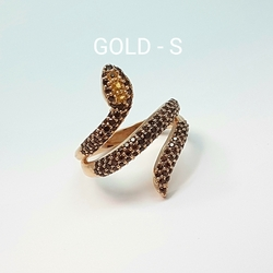 Кольцо «Змея» 10466