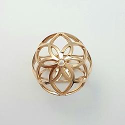 Кольцо «Двойное семя жизни» 10473