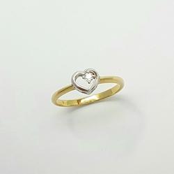 Кольцо «Сердце» 10362
