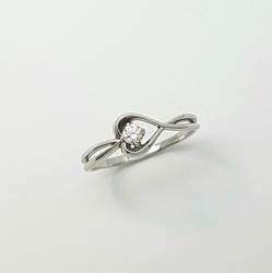 Кольцо «Сердце» 10334