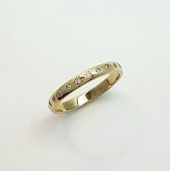 Кольцо обручальное 10167