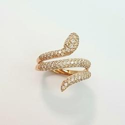 Кольцо «Змея» 10482