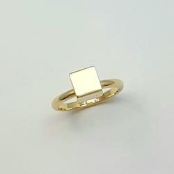 Кольцо «Куб» 10264