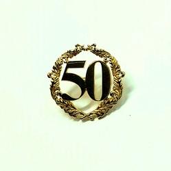 Значок «50 лет» 80056
