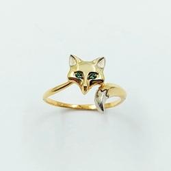 Кольцо «Лиса» 10529