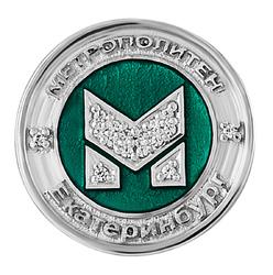 Сувенир-значок «Метрополитен» 80003