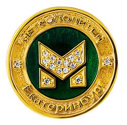 Сувенир-значок «Метрополитен» 80001